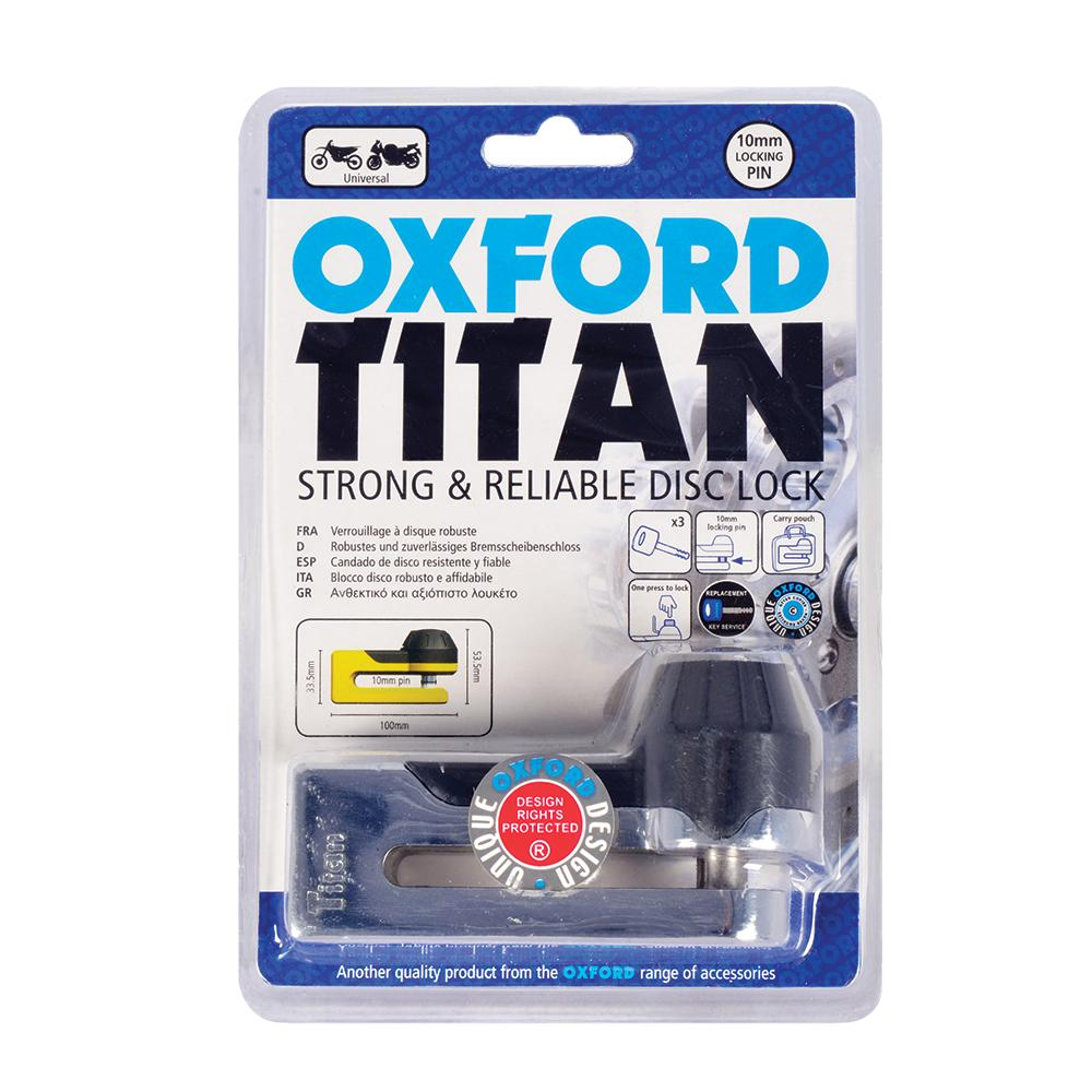 OXFORD - Titan Disc-Lock & Pouch
