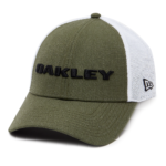Oakley Casual 2018 New Era Golf Hat (Heather Dark Brush)