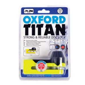 OXFORD - Titan yellow Disc-Lock & Pouch