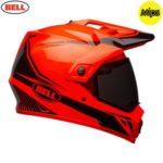 Bell MX-9 Adventure Torch Hi Viz Orange Helmet
