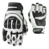 RST TRACTECH EVO SHORT GLOVES (WHITE)