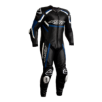 RST TRACTECH EVO R CE MENS LEATHER SUIT (BLACK/BLUE/WHITE)