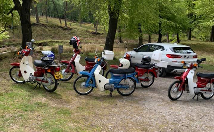 C90's Forest of Bowland Rideout
