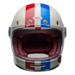 Bell 2020 Cruiser Bullitt DLX Adult Helmet (Command Vintage White/Red/Blue)