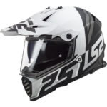 LS2 MX436 PIONEER EVO EVOLVE WHITE/MATT BLACK